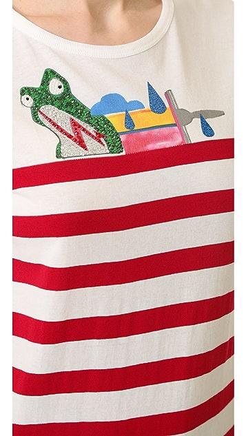 Marc Jacobs Classic Stripe Tee