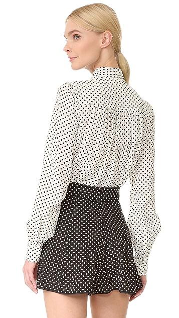 Marc Jacobs Tie Neck Blouse