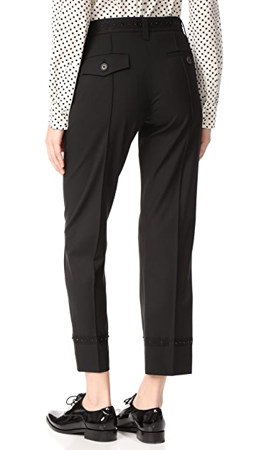 Marc Jacobs Embellished Trousers