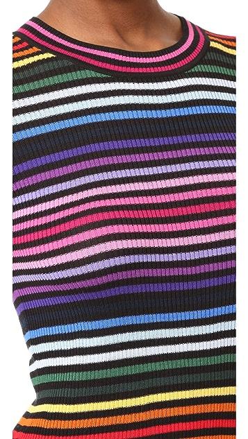 Marc Jacobs Rainbow Sweater Dress