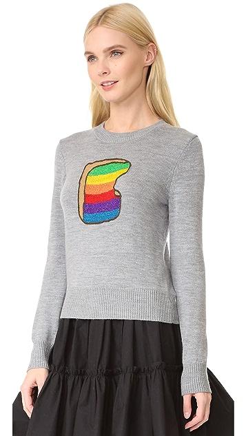 Marc Jacobs Rainbow Toast Sweater