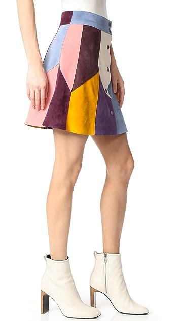 Marc Jacobs Rainbow Multi Skirt