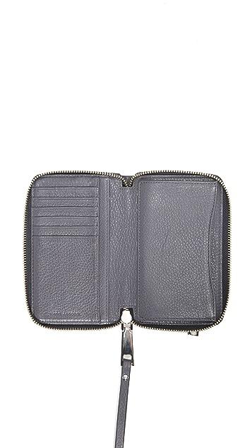 Marc Jacobs Recruit Zip Wristlet