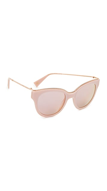The Marc Jacobs Chain Cat Eye Sunglasses