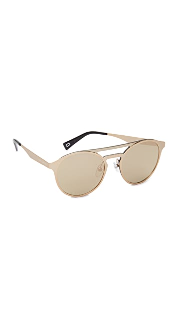 Marc Jacobs Round Aviator Sunglasses