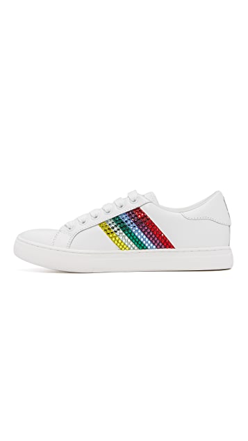 Marc Jacobs Empire Strass Lace Up Sneakers