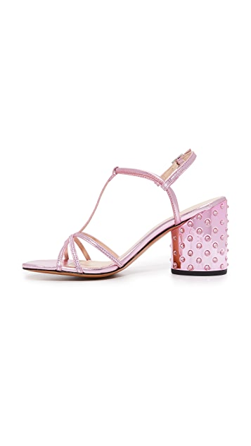 Marc Jacobs Sheena T-Strap Sandals
