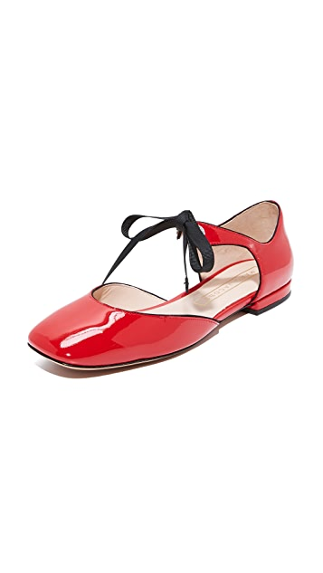 Marc Jacobs Alyssa Mary Jane Ballerina Flats