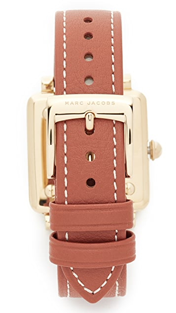 Marc Jacobs Vic Leather Watch