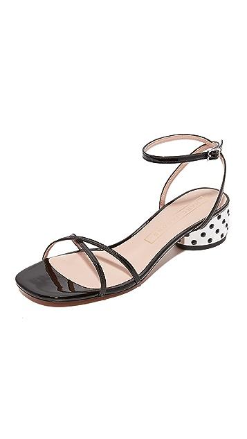 Marc Jacobs Sybil Ankle Strap City Sandals