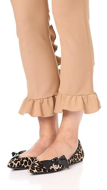 Marc Jacobs Point Toe Ballerina Flats