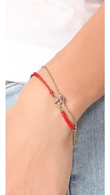 Marc Jacobs Lips Chain Bracelet
