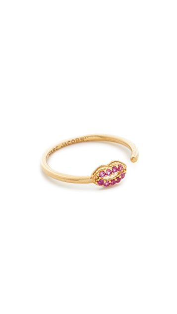 Marc Jacobs Lips Open Ring