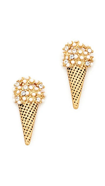Marc Jacobs Ice Cream Stud Earrings