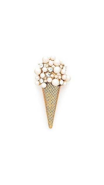 Marc Jacobs Ice Cream Brooch