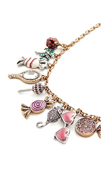 Marc Jacobs Charms Poolside Statement Necklace