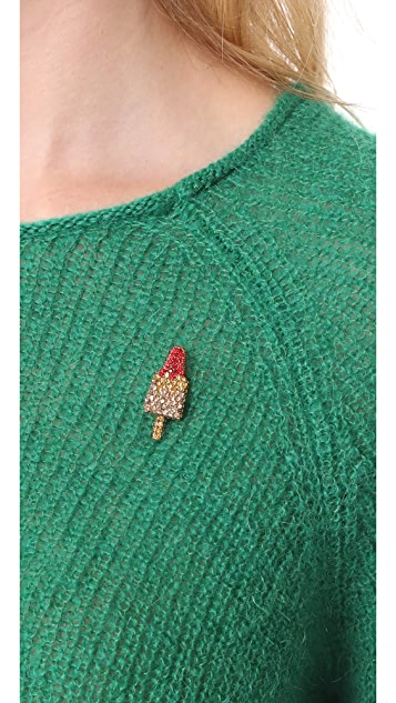 Marc Jacobs Strass Rocket Lolli Pin