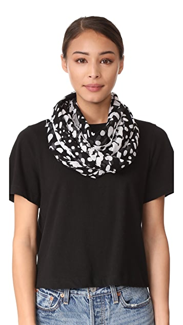 Marc Jacobs Wavy Spots Stole Scarf