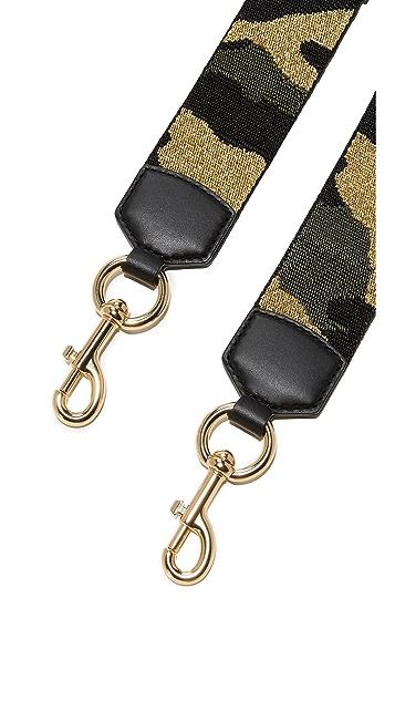 Marc Jacobs Camo Webbing Bag Strap