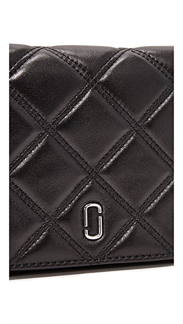 Marc Jacobs Double J Cross Body Wallet