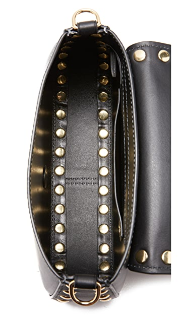 Marc Jacobs Studded Navigator Shoulder Bag