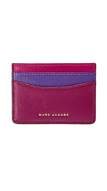 Marc Jacobs Colorblock Card Case