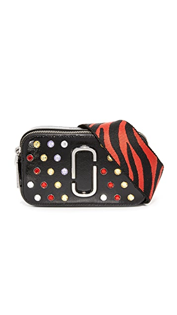 Marc Jacobs Crystals Snapshot Camera Bag