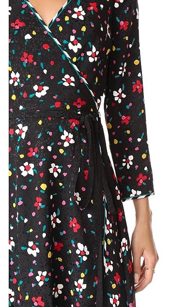 Marc Jacobs Wrap Dress with Waist Tie