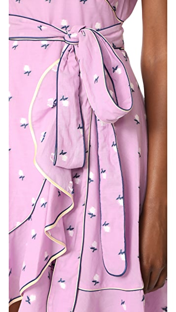 Marc Jacobs Dress with Flutter Sleeves