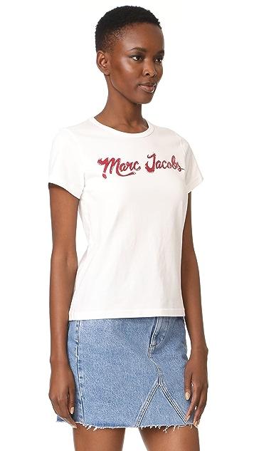 Marc Jacobs Short Sleeve Tee Shirt