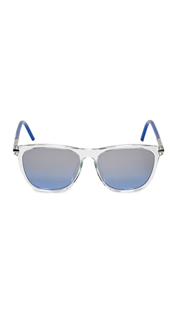 Marc Jacobs Translucent Mirrored Sunglasses