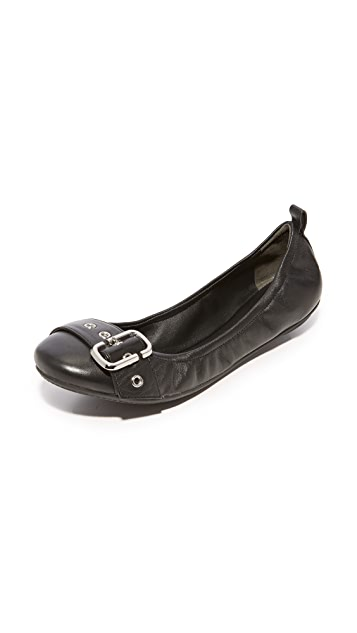 Marc Jacobs Dolly Buckle Ballerina Flats