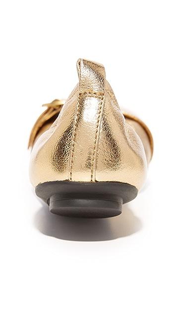 Marc Jacobs Dolly Buckle Ballerina Flats