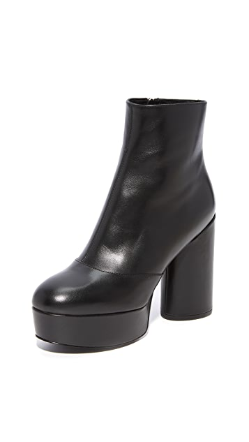 Marc Jacobs Amber Platform Ankle Booties