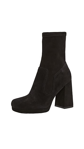 Marc Jacobs Ross Stretch Ankle Booties