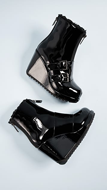 Marc Jacobs Hope Wedge Winter Booties