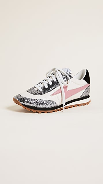 Marc Jacobs Astor Lightning Bolt Jogger Sneakers