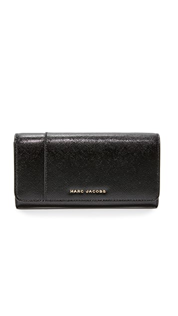Marc Jacobs Flap Continental Wallet