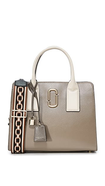 Marc Jacobs Big Shot Satchel - French Grey Multi