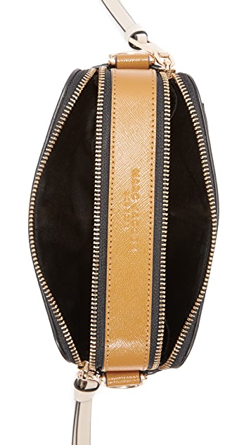 The Marc Jacobs Stripe Snapshot Camera Bag