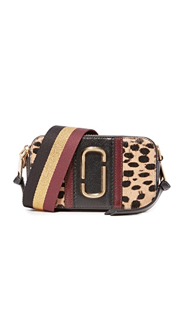 b70d1770a53 Marc Jacobs Leopard Haircalf Snapshot Bag | SHOPBOP