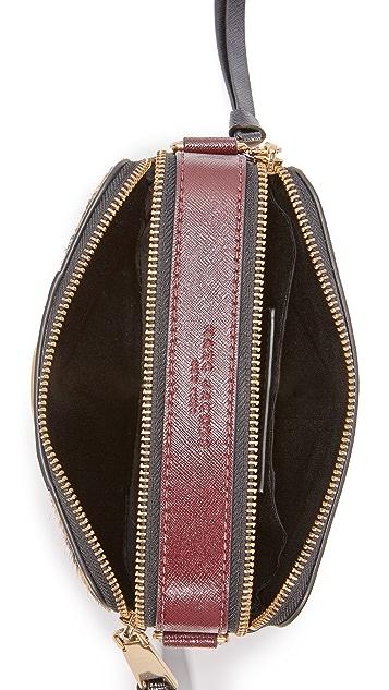 Marc Jacobs Leopard Haircalf Snapshot Bag
