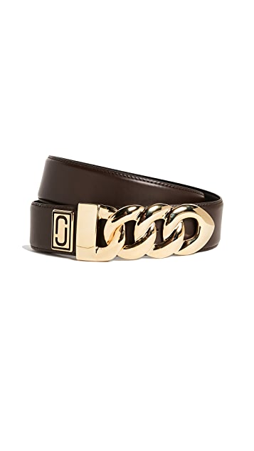 Marc Jacobs Double J Plaque Belt