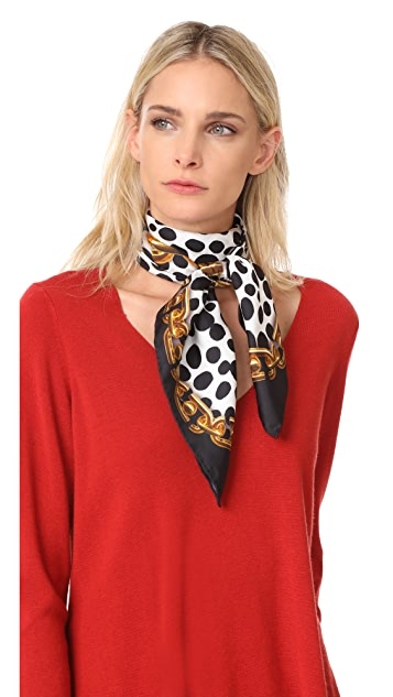 The Marc Jacobs Animal & Chains Scarf