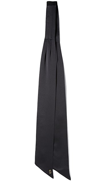 Marc Jacobs Pleated Bandeau Scarf