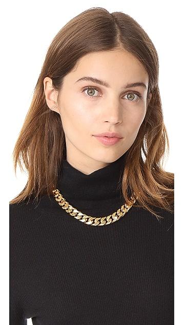 Marc Jacobs Respect Double J Short Necklace