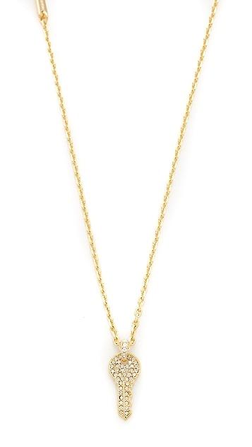 Marc Jacobs Respect Short Key Necklace
