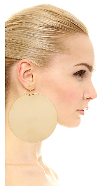 Marc Jacobs Respect Disc Single Earring