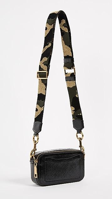 Marc Jacobs Glitter Snapshot Camera Bag