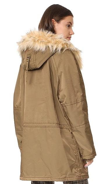 Marc Jacobs Пальто с капюшоном-трубой